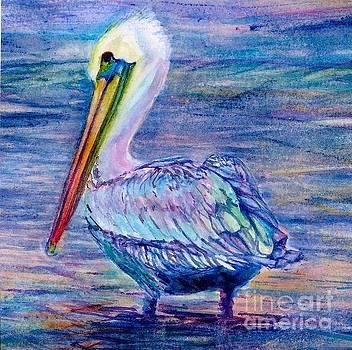 Pelican Gaze by Cynthia Pride