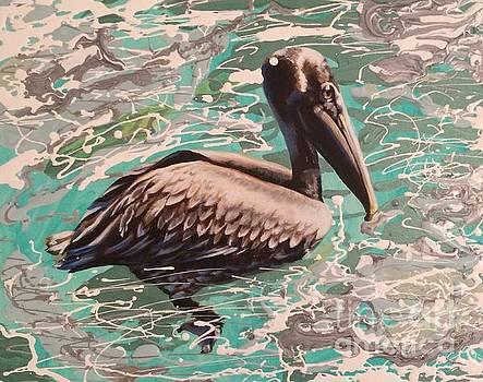Pelican by Harriet Muller