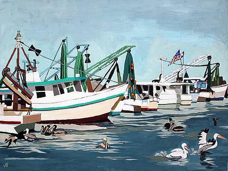 Pelican Patrol by Melinda Patrick