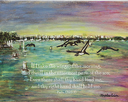Pelicans Fly Psalm 139 by Janis Lee Colon