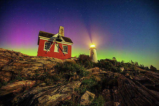 Pemaquid Aurora by Robert Clifford