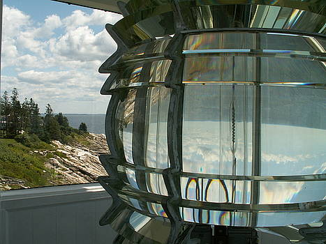 Pemaquid Lens Reflections by Theresa Willingham