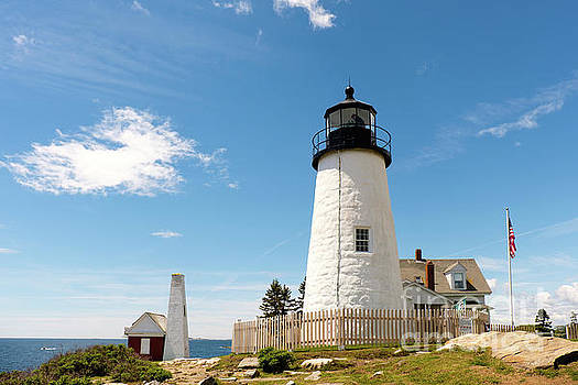 Pemaquid Point Lighthouse by Carolyn Abell Hodges