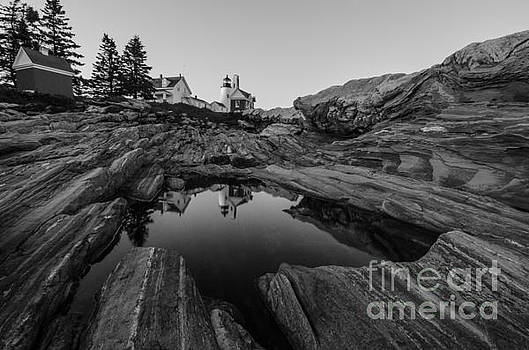 Pemaquid Reflecting by Paul Noble