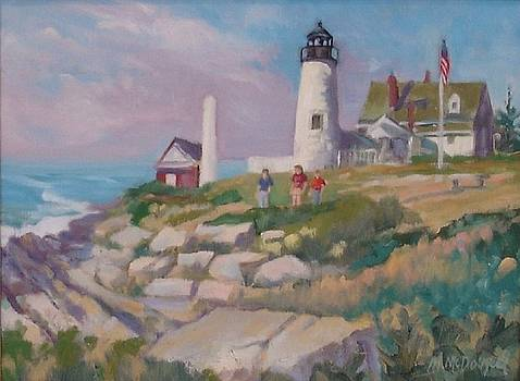Pemiquid Light by Michael McDougall
