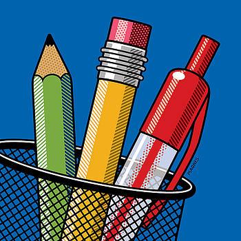 Ron Magnes - Pen and Pencils