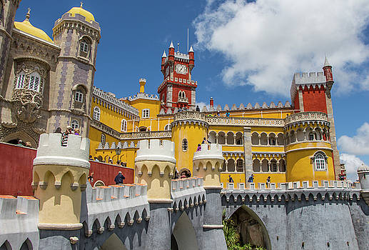 Venetia Featherstone-Witty - Pena Palace, Sintra, Portugal