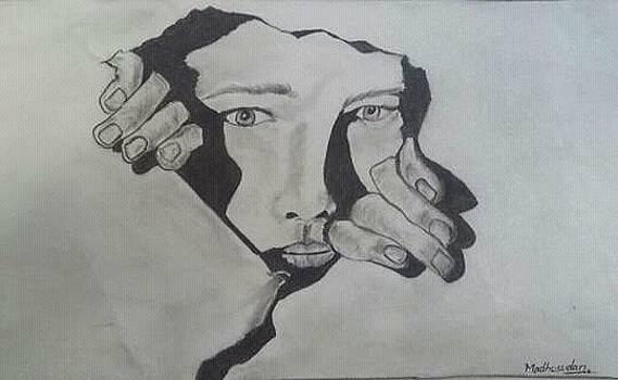 Pencle Sketch by Madhusudan Bishnoi