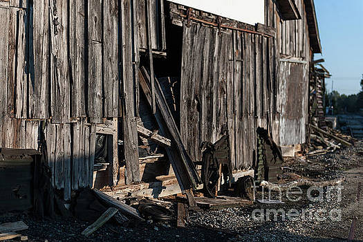 Pendleton Mill Remains by Dale Powell