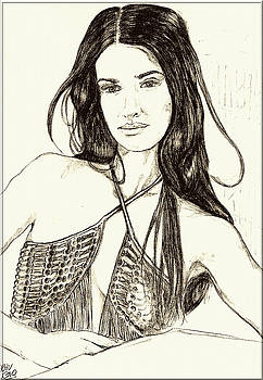 Penelope Cruz by Didier DidGiv