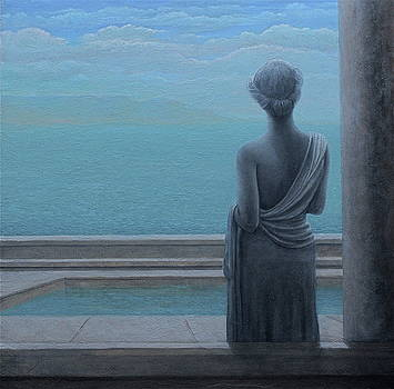 Penelope  Greek Goddess by Bonnie Schulte