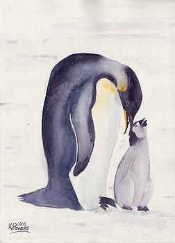 Ken Powers - Penguin and Baby