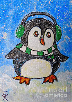 Penguin First Snow by Ella Kaye Dickey