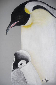 Penguin Love by Debbie Payne