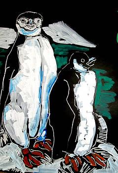 Doris  Lane Grey - Penguins Hangin