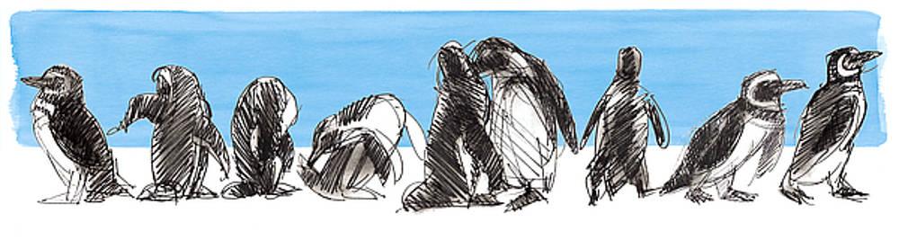 Judith Kunzle - Penguins