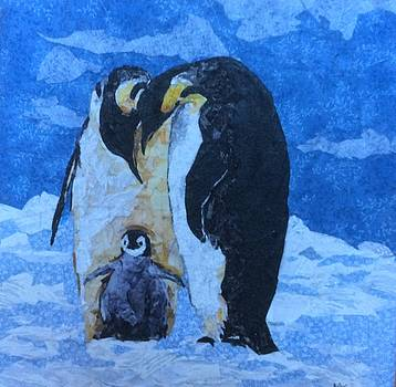 Penguins- Doting Parents by Mihira Karra