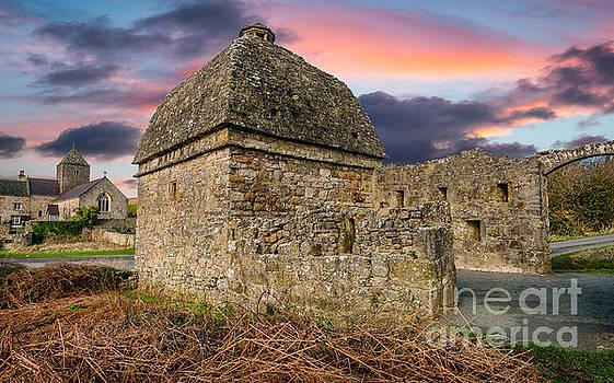 Adrian Evans - Penmon Priory Sunset