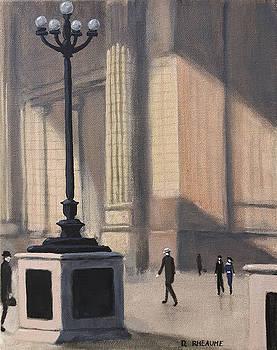 Penn Station 1920 by Dave Rheaume