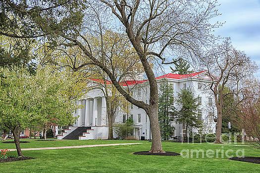 Pennsylvania Hall Gettysburg College by Elizabeth Dow