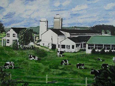 Pennsylvania Holstein dairy farm  by Francine Heykoop