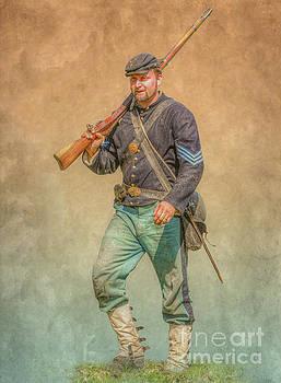 Pennsylvania Infantry Sergeant Civil War by Randy Steele