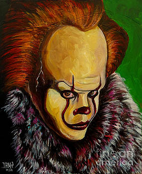 Pennywise IT  2017 by Jose Mendez