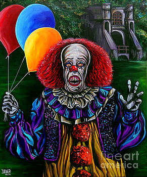 Pennywise IT by Jose Mendez