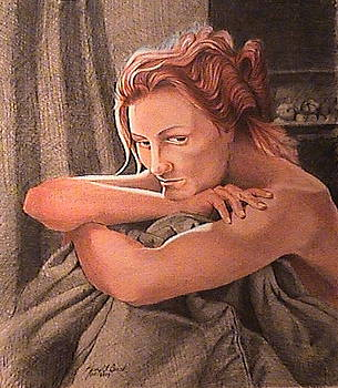 Pensive by Kerry Burch