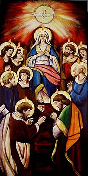 Pentecost Version I by Sheila Diemert