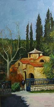 Penteli Monastery by George Siaba