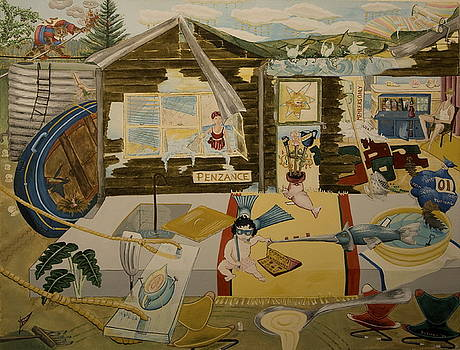 Penzance - A beach holiday home in the 1960 by Carrie Beehan