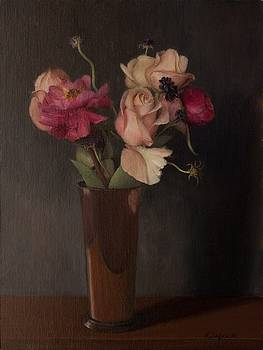 Peonies and Roses by Katherine Seger