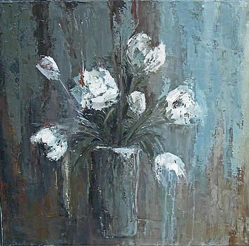 Peonies by Donna Thomas