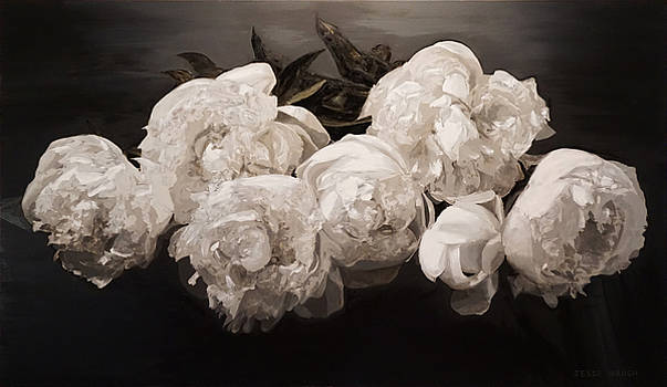 Peonies Majestic by Jesse Waugh