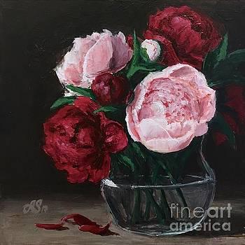 Peonies of love by Anna Starkova