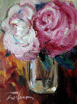 Peonies by Ron Wilson