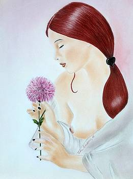 Peony by Ida Ambrosio