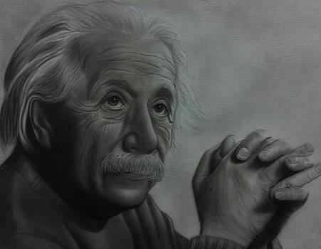 People- Albert Einstein 2 by Shawn Palek
