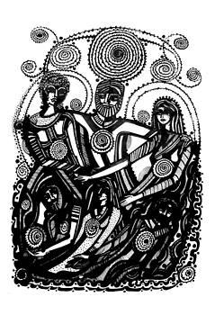 People by Lydia L Kramer