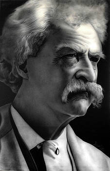 People- Mark Twain by Shawn Palek