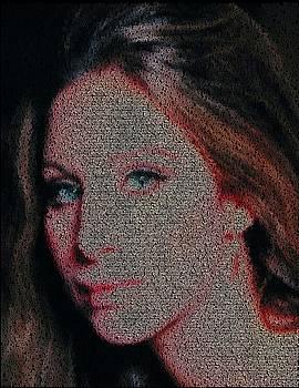 People Mosaic by Paul Van Scott