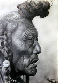 People- Old Indian by Shawn Palek