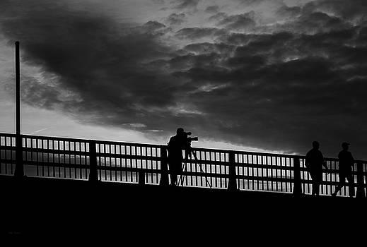 People On The Bridge by Bob Orsillo