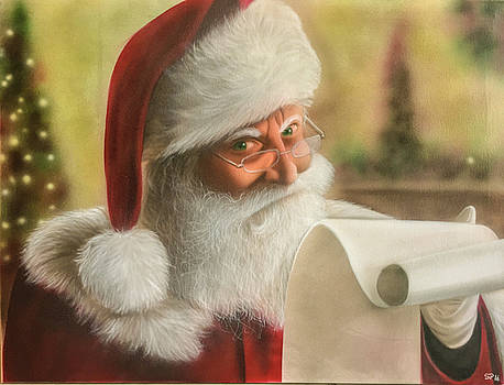 People- Santa 2 by Shawn Palek