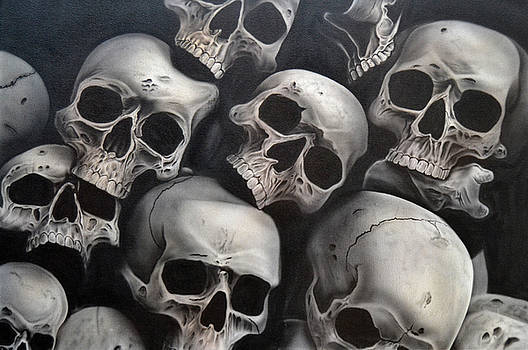People- Skulls  by Shawn Palek