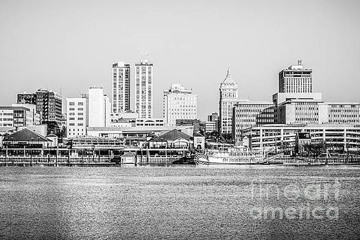 Peoria Skyline Black and White Picture by Paul Velgos