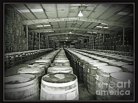 Pepper Aging Barrels by Leslie Revels