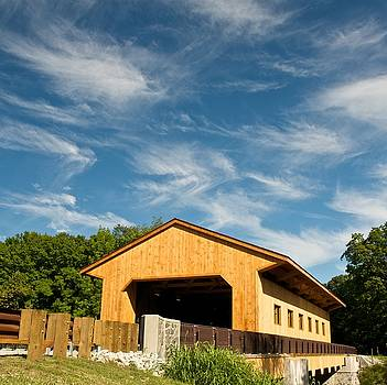 Pepperell Covered Bridge by James Walsh