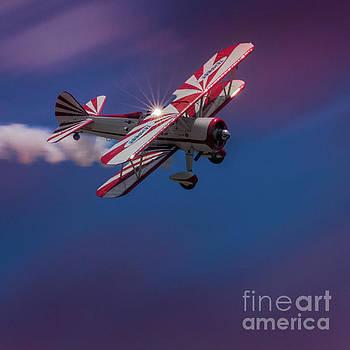 Peppermint Biplane by Doug Sturgess